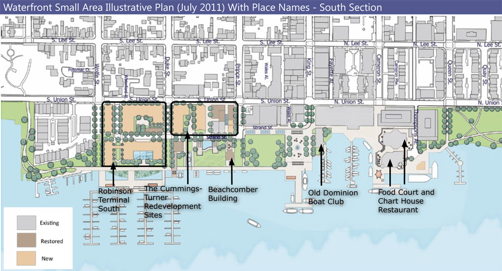 Jaybird's Jottings: The Alexandria Waterfront: A Brief History