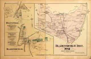 Bladensburg Map