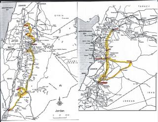 SyriaJordanMap