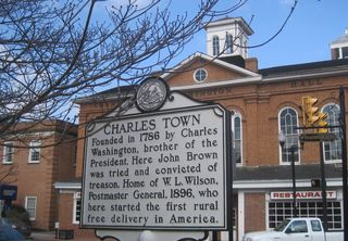 Charles Town marker photo