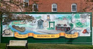 Brunswick mural 2020