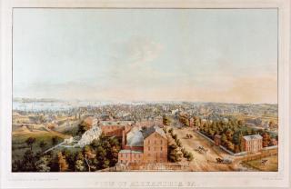 View_of_Alexandria_1853
